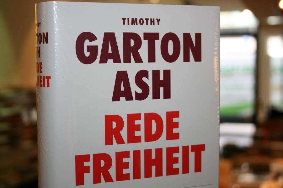 Timothy Garton Ash, Redefreiheit