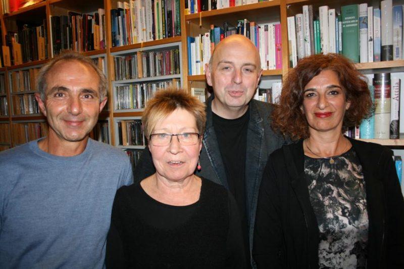 Khalil Kermani, Beate Scherzer, Frank Goosen und Bita Kermani