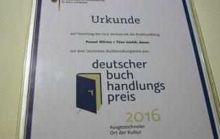 Deutscher Buchhandlungspreis 2016 für Proust
