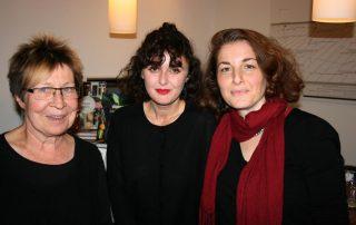 "Beate Scherzer (Proust), Meral Kureyshi und Semra Uzun-Önder (""Literatürk"")"