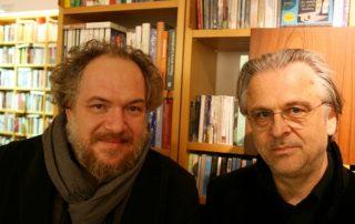 Mathias Énard mit Norbert Wehr (Foto: Proust)