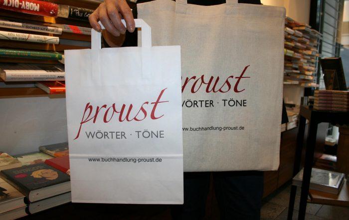 Proust ist plastikfrei!