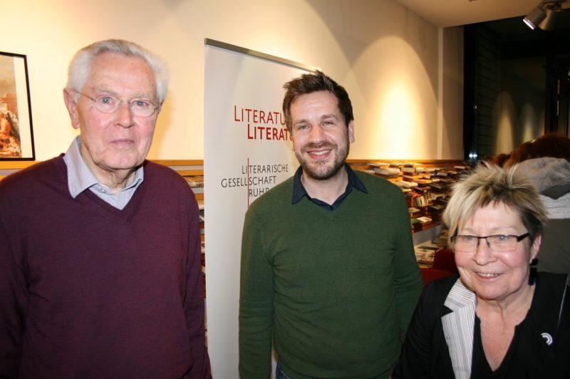 Heinz Feldmann, Gregor Henze und Beate Scherzer (Proust)