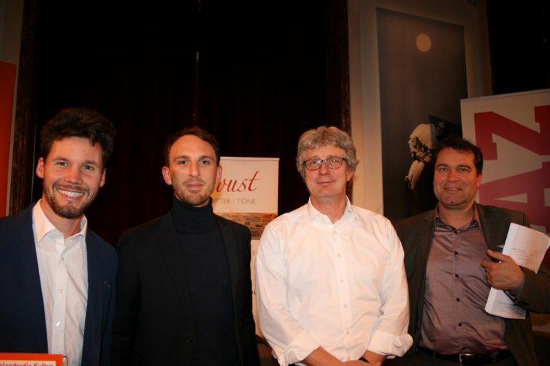 Christian Rabhansl, Holger Michel, Tillmann Bendikowski und Jens Dirksen