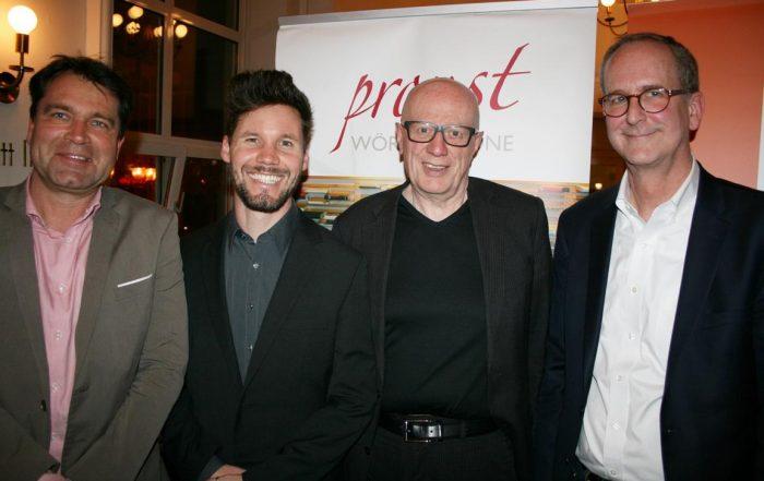 v.l.: Jens Dirksen (WAZ), Christian Rabhansl (Deutschlandradio Kultur), Ralf Fücks und Todd Huizinga