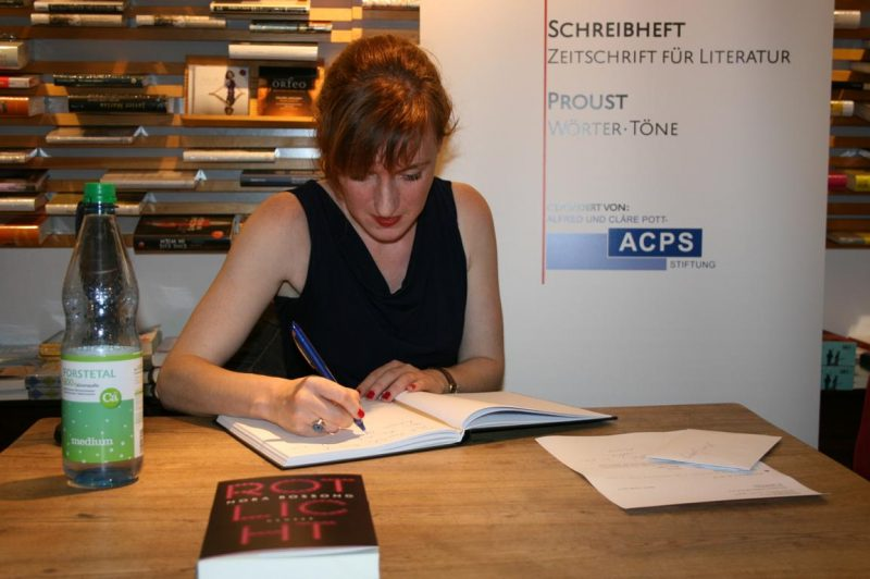 Nora Bossong bei Proust in Essen