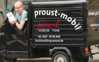 Proust-Mobil, Foto: Knut Vahlensieck