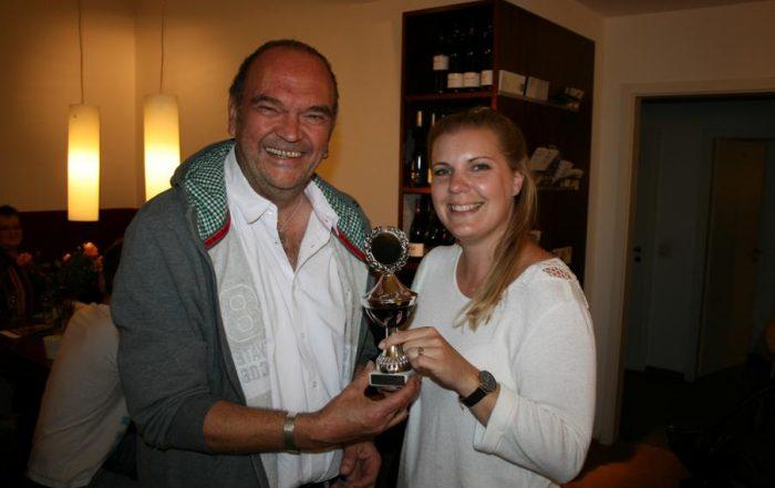 Bernie Wilmer (Lichtburg) mit Lina Kolling