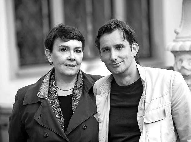 Jelena VoliC und Christian SchuenemannFoto: Diogenes Verlag / Nathan Beck