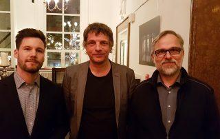 Christian Rabhansl (Deutschlandfunk Kultur), Helmut Burtscher-Schaden und Alexander Schiebel