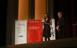 Semra Uzun-Önder (Literatürk) und Beate Scherzer (Proust)