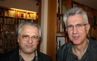 Norbert Wehr und Helmut Böttiger