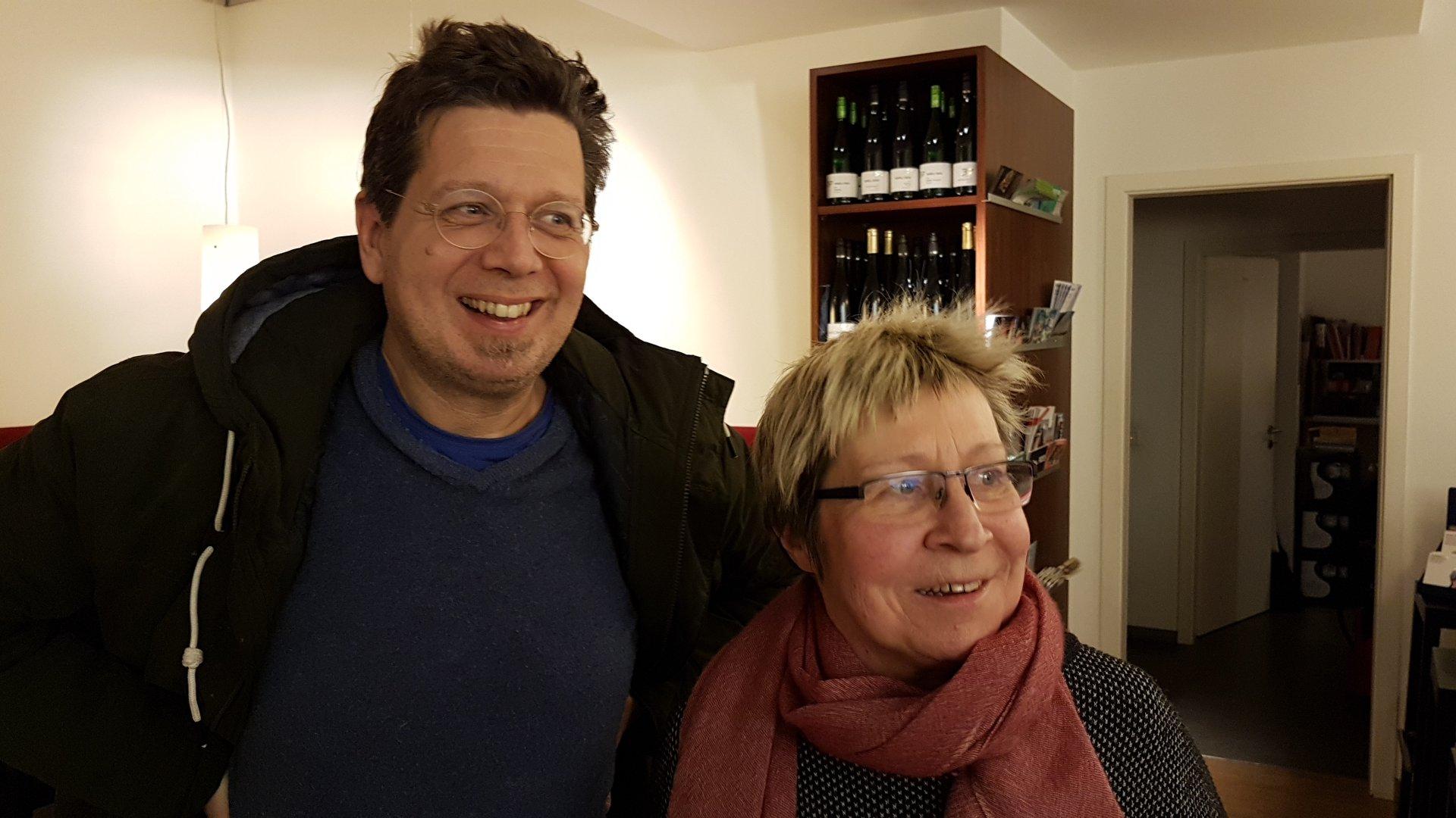 Franzobel und Beate Scherzer