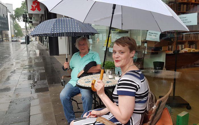 Helmut Lethen und Hanna Engelmeier
