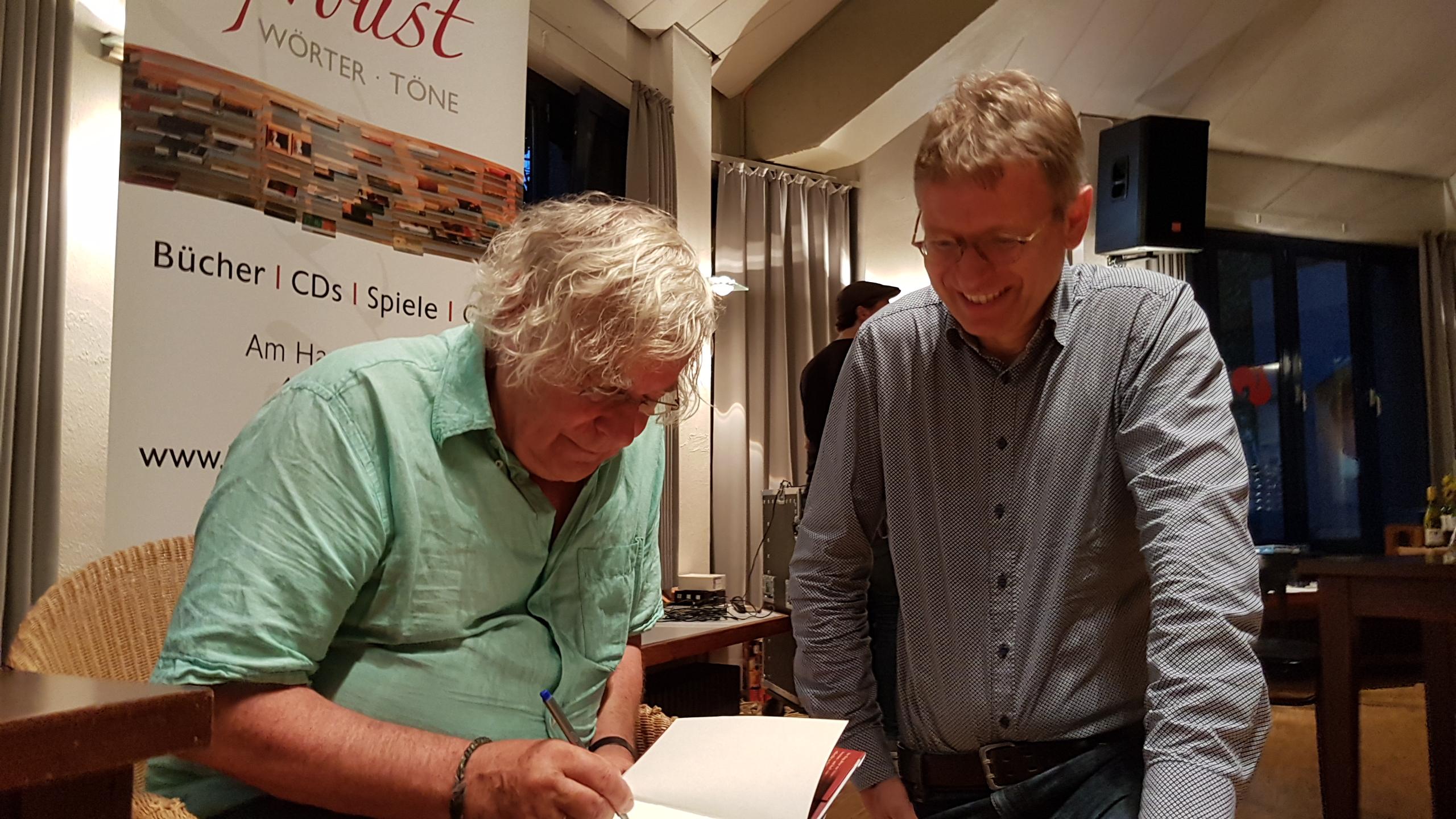 Helmut Lethen signiert