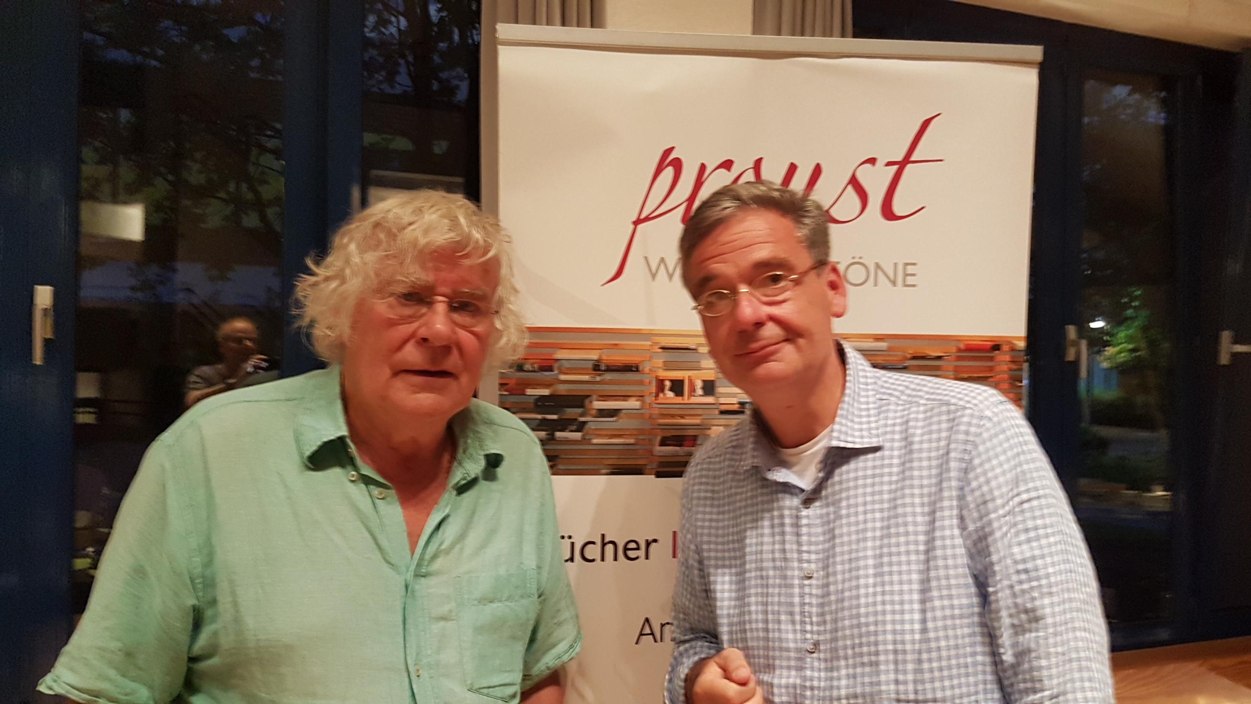 Helmut Lethen und Tobias Korenke