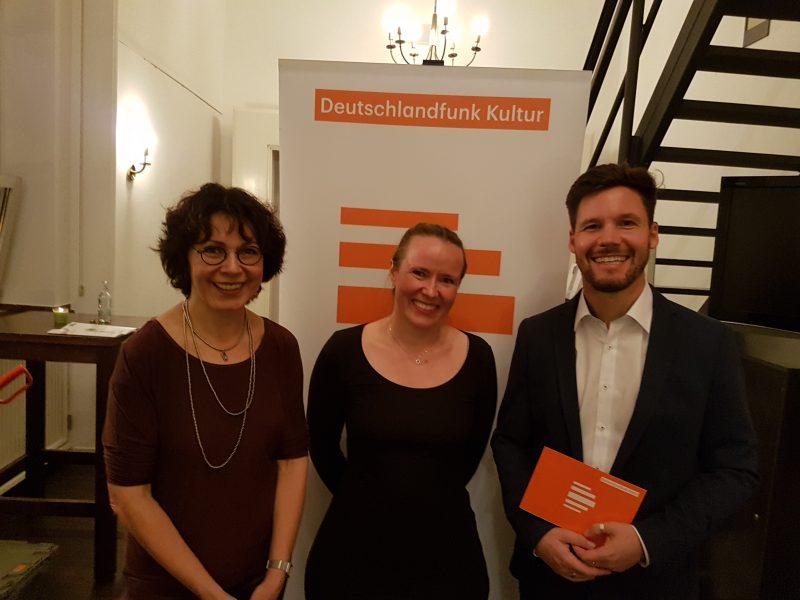Sabine Adler, Juna Grossmann und Christian Rabhansl