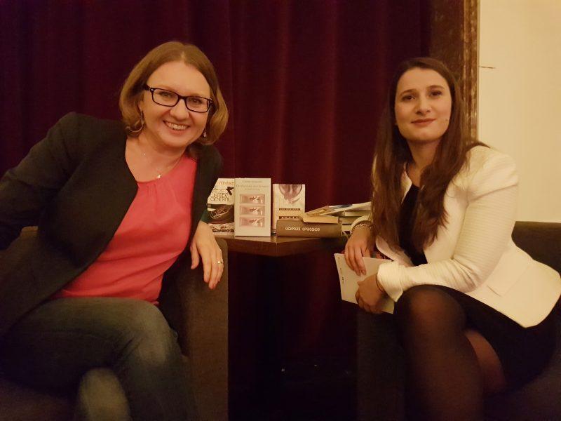 Bozena Badura mit Anastasia Kamarauli