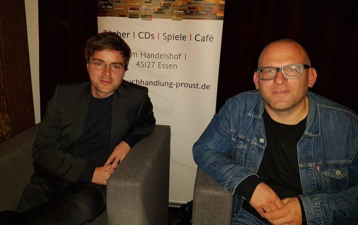 Alexander Krützfeldt und Roland Schulz