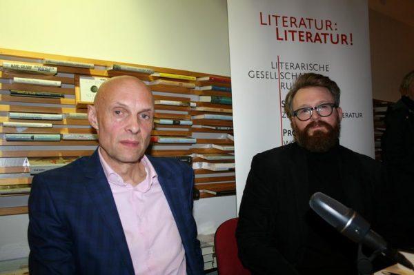 Michael Lentz und Jan Wilm