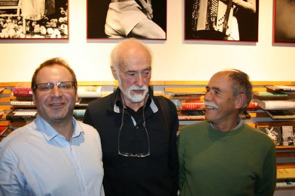 Guy Delahaye (m.) mit David Babin und Michel Vincent