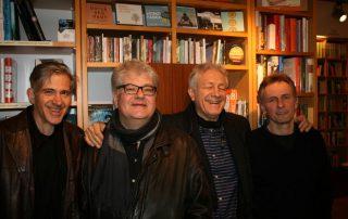 Chris Bacas' Brooklyn Vibe: Jazz talking…,i.e. Chris Bacas, Pepe Berns, Stefan Bauer und Roland Schneider