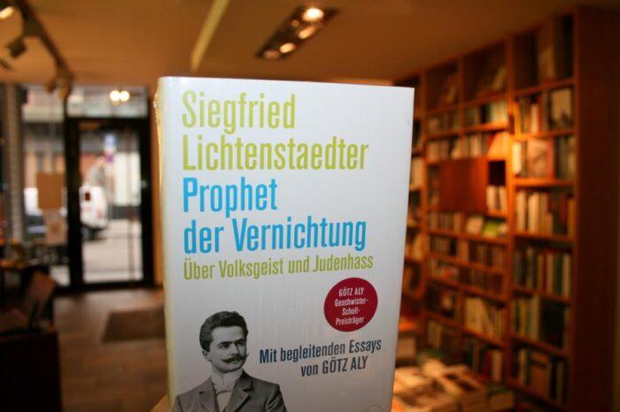 Siegfried Lichtenstaedter Prophet der Vernichtung